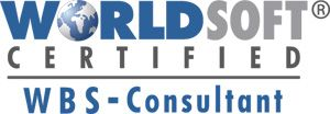 Logo Worldsoft Certified WBS-Consultant